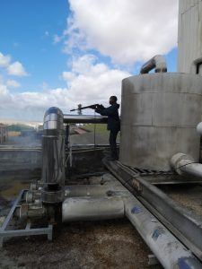 Pipework cleaning