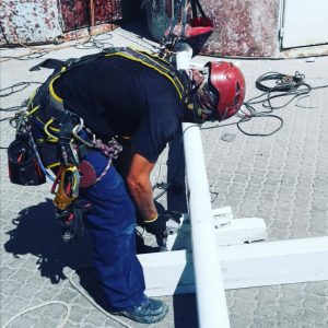Silo pipe replacement